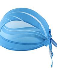 Bandana Bike Cycling,WEST BIKING® Unisex Outdoor Breathable Kerchief Blue Sea Polyester Pirate Kerchief UV Sunscreen Cycling Accessories