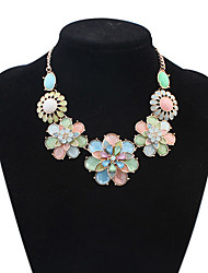 Colorful day  Women's European and American fashion necklace-0526108