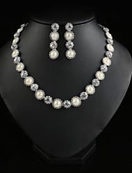 Women Party/CasualFashion Elegant  Alloy/Cubic Zirconia Necklace/Earrings Sets