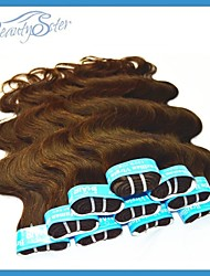 "3Kg Wholesale Cheap Brazilian Hair Dark Brown Color Grade5A Body Wave 14""~22"" No Shedding"