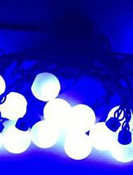 4w 5 metro di diametro esterno 20pcs lampadina led stringa di modellazione luci di palla eccellente grandi, di colore blu