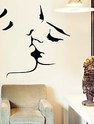 decalques de parede adesivos de parede, parede beijo adesivos em pvc
