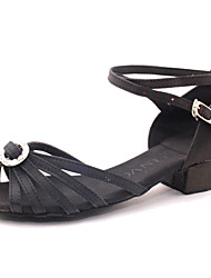 Andere - 3-6cm - Mädchenschuhe - Sandalen ( PU , Schwarz/Orange/Rosa )