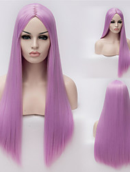 European And American High-Quality High-Temperature Silk Long Straight Hair wig Fashion Girl Necessary