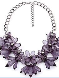 MPL hot temperament beautiful Diamond Flower Necklace