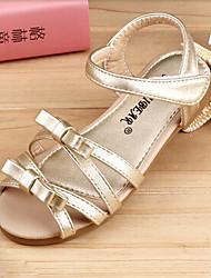 Sandalias ( Oro ) - Comfort - Semicuero