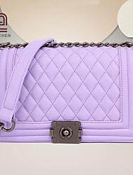 handcee® venta caliente mujer del diseño de la vendimia de la PU acolchado bolso crossbody