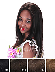 New arrival 12''~18'' yaki straight Remy Virgin Indian Human Hair Wigs Silk Top Full Lace front Wigs With Baby Hair