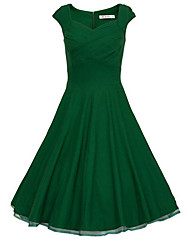 Vestidos ( Algodão ) MULHERES - Vintage/Casual