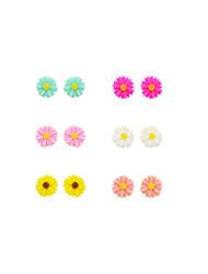 Earring Flower Stud Earrings / Earrings Set Jewelry Women Daily / Casual / Sports Resin 12pcs