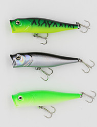 Fishing Lure 90mm 13.5g Big Popper Hard Bait Fishing Lure with 6# Hooks