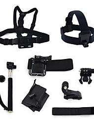 kit-8 em 1 Acessórios para GoPro Hero 4 3 + / 3 câmera ourspop k23 gp-