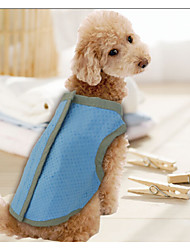 Blue Waterproof PVA Material Cooling Clothes For Dogs