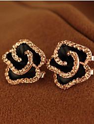 Earring Stud Earrings Jewelry Women Alloy 2pcs Silver