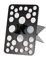 круглый новый простой акрил макияж тени для век порошок косметические кисти для хранения организатор сушилка стенд держатель (черный /