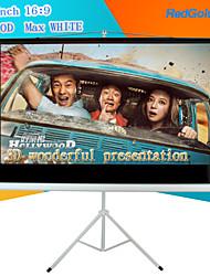 redgoldleaf 84 pulgadas 16: 9 pantalla de proyector portátil con soporte