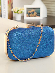 Women Other Leather Type Event/Party / Outdoor Evening Bag Pink / Blue / Green / Gold