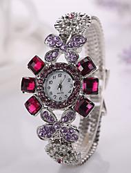 New  2015 Hot Sale Fashion Casual Watch Women Dress Watches Flower Bracelet Ladies Wristwatch Original Female Clock