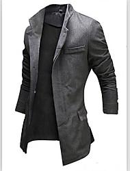MEN - Giacche e cappotti - Informale Supporto - Maniche lunghe Cotone / Raion
