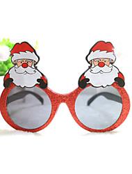 pc punny levendige kerstman stijl geek&chique party bril