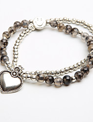 bracelet bague en cristal pour enfants