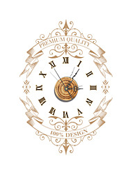 PAG®Vintage 3D Effect Wood Wall Clock 22.79*15.75 inch / 57.9*40cm