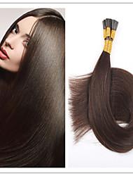 """18 """"28"""" Stockhaar / i spitzen Haarverlängerung brasilianische reine Fusion vor-verbundenes Haar 1g / s 100g / pc 1pc / lot auf Lager"""