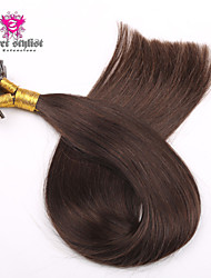 100g / lot actions couleur sombre remy mongol bout d'ongle extensions de cheveux 20 pouces u Astuce extensions de cheveux 100gram nouvelle