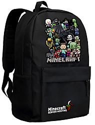 Minecraft backpack Enderman day pack New School bag Nylon rucksack Game daypack 042