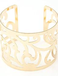 Mujer Pulseras de puño Legierung Moda Plata Dorado Joyas 1 pieza