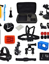 17-em-1 kit de acessórios para câmeras de esportes para GoPro herói ourspop k02 gp-4/3/3 +