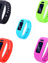 "0.91"" Bluetooth Smart Bracelet Waterproof Wearable Sleep Monitoring Bluetooth Sports Pedometer"