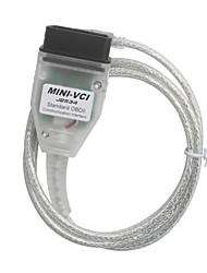 mini-VCI pour toyota tis techstream support de câble unique logiciel de diagnostic oem toyota tis v10.00.028