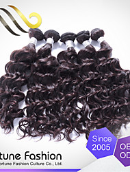 3pcs Ibeauty High Standard Brand Product Unprocessed Water Wave Brazilian Human Hair Sew in Weave