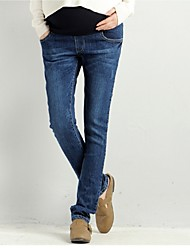 Spring Fashion Maternity Jeans For Pregnancy Clothes Denim Pants For Pregnant Women Clothing