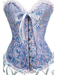 Corset Lacet Polyester Femme
