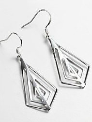 New Products S925 Silver Plated Drop Earring Christmas Gift Jewelry Earring Fashion Fine Accessories