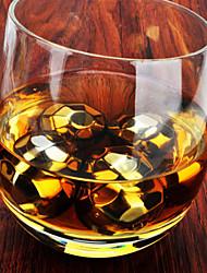 (8 Stück) fashion importiert Whisky neue rautenförmigen Edelstahl gefrorene Eiswürfel für bar - senden Clip