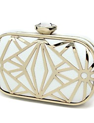 Handbag Faux Leather/Metal Evening Handbags/Clutches With Metal