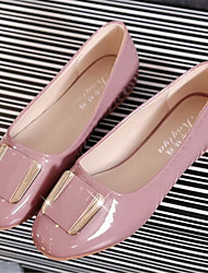 Women's Shoes Flat Heel Round Toe Flats Casual Black/Pink/Beige