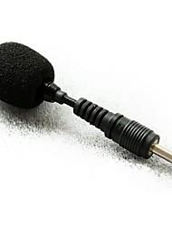 "topkwaliteit nier mini externe condensator microfoon 1/8 ""(3,5 mm) plug"