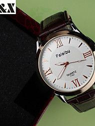 Women's Fashion Water-Proof Quartz Analog  Leather Wrist Watch(Assorted Colors)