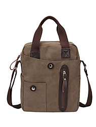 DROEA Dust Proof/Wearable/Multifunctional Shoulder Bag Cycling 1 L Coffee Canvas