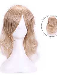 35 Cm Harajuku Anime Cosplay Wigs Young Wavy Curly Synthetic Hair Wigs Women Halloween Costume Sexy Blonde Wigs