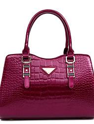Damen - Beutel - PU - Shopper - Rot