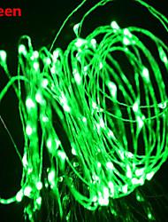 WENTOP 5 M 50 Warmweiß/Weiß/Rot/Gelb/Blau/Grün/Purpur/Rosa/Zufällige Farben Wasserdicht 2 W Leuchtgirlanden DC12 V