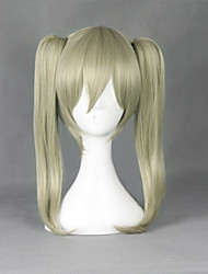 Cosplay Wigs SoulEater Maka Albarn Yellow Medium Anime Cosplay Wigs 45 CM Heat Resistant Fiber Male / Female