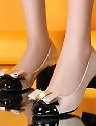 Women's Shoes All Match Chunky Heel Round Toe OL Pumps