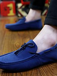 Men's Shoes Casual  Boat Shoes Black/Blue