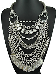 Yumfeel Factory Original Design Jewely Vintage Unique Engraved Bib Necklace